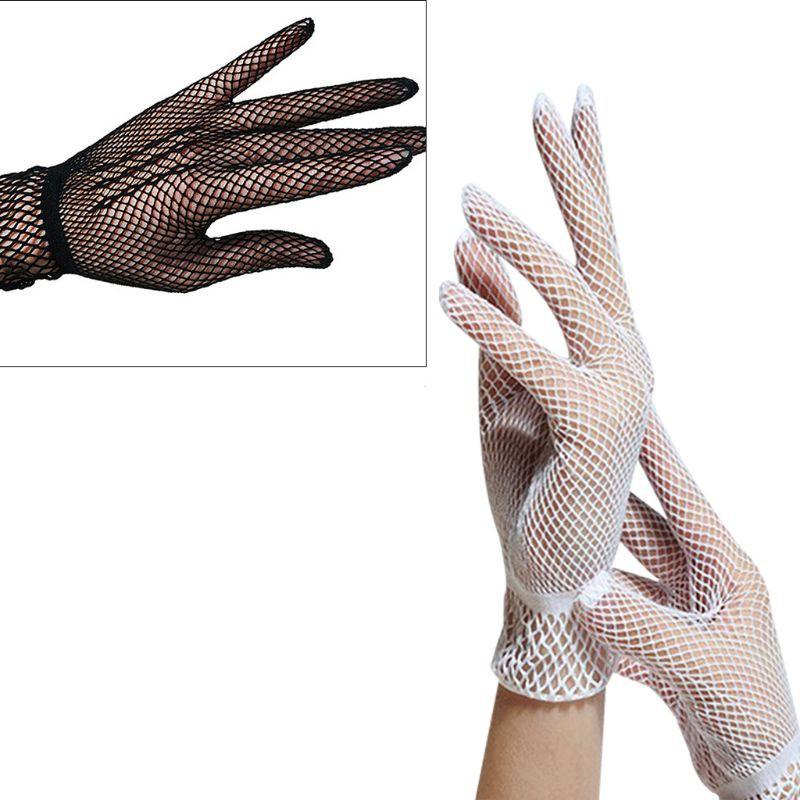 2019 New 1 Pair Fashion Women Summer Fishnet Dual Function Silk Anti-uv Gloves Or Leg Lace Mesh Socks New Design Hot Sale 2017 Apparel Accessories