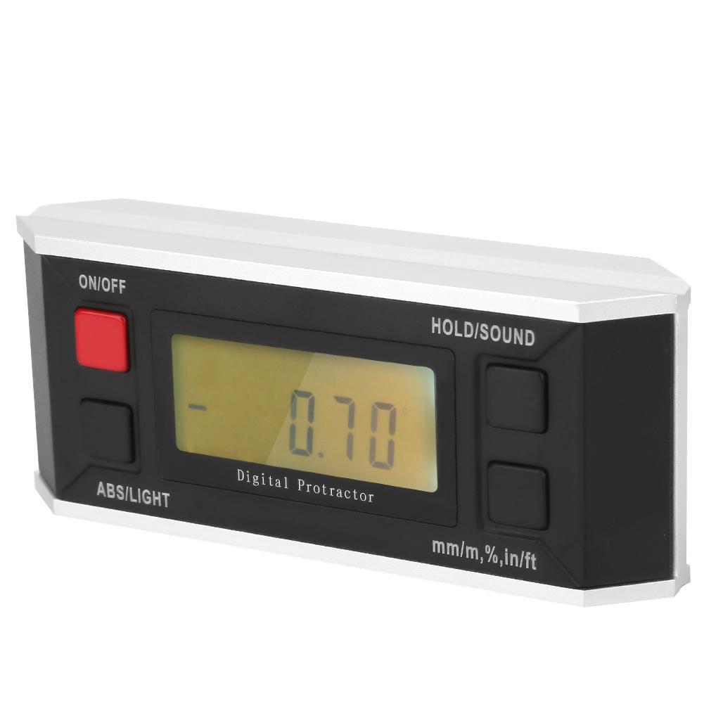 Mini Digital Protractor Inclinometer Level Box Angle Finder Measuring Tools G3