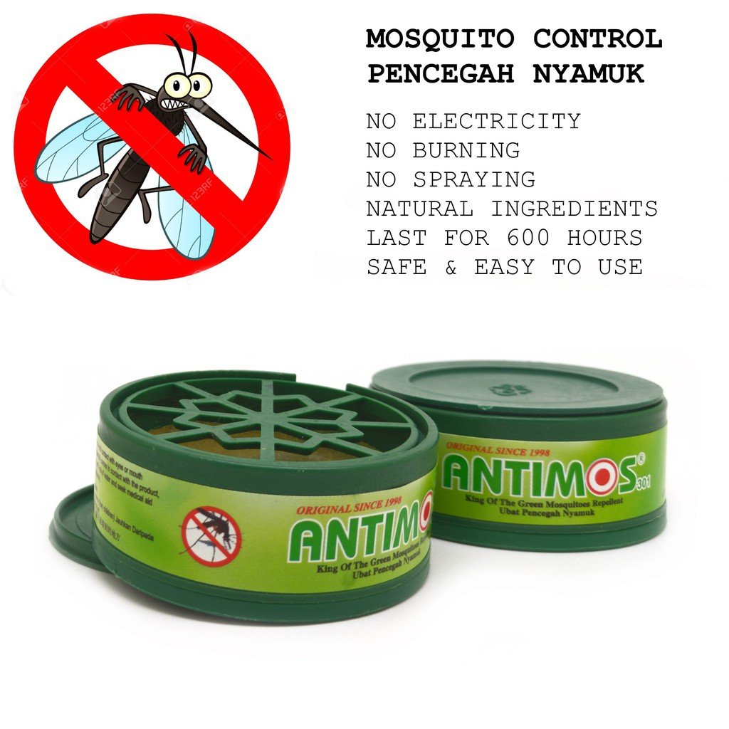 ANTIMOS Effective Mosquito Control / Natural Insect Rpl Spray 70ml / ANTI  Lipas Cockroach | Shopee Singapore