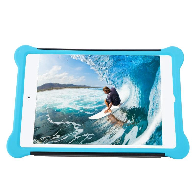 Anti-fall Shockproof Clamshell Tablet Case Silicone Protection Case Cover  For iPad mini 1/2/3