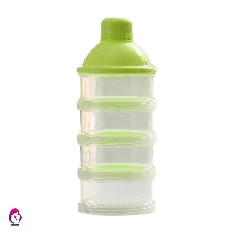 3 Layers Baby Milk Powder Dispenser Container Storage Formula Feeding Box sp