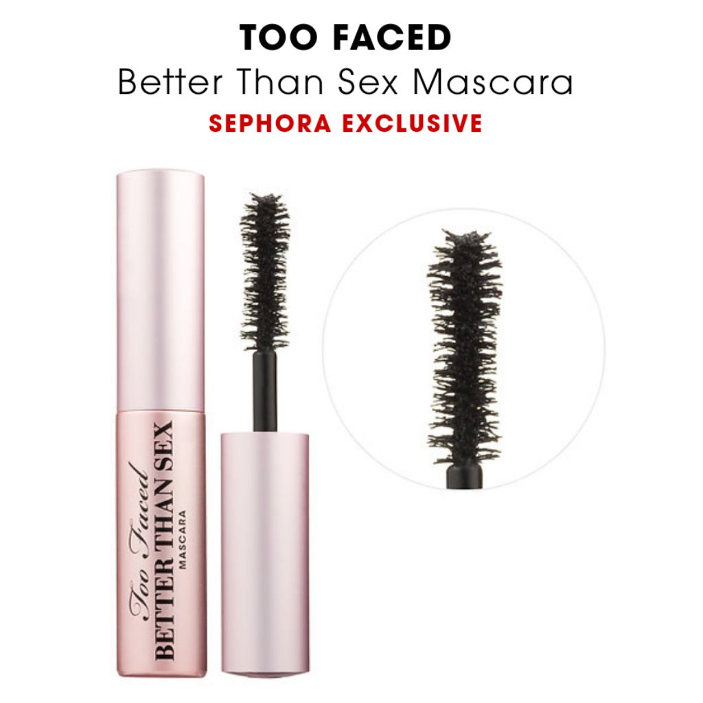 62121b3ee58 BN Too Faced better than sex mascara travel size | Shopee Singapore