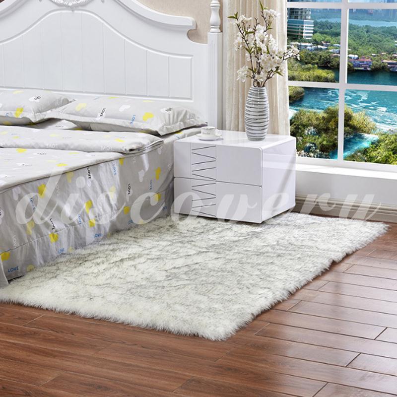 Carpet Artificial Sheepskin Rug