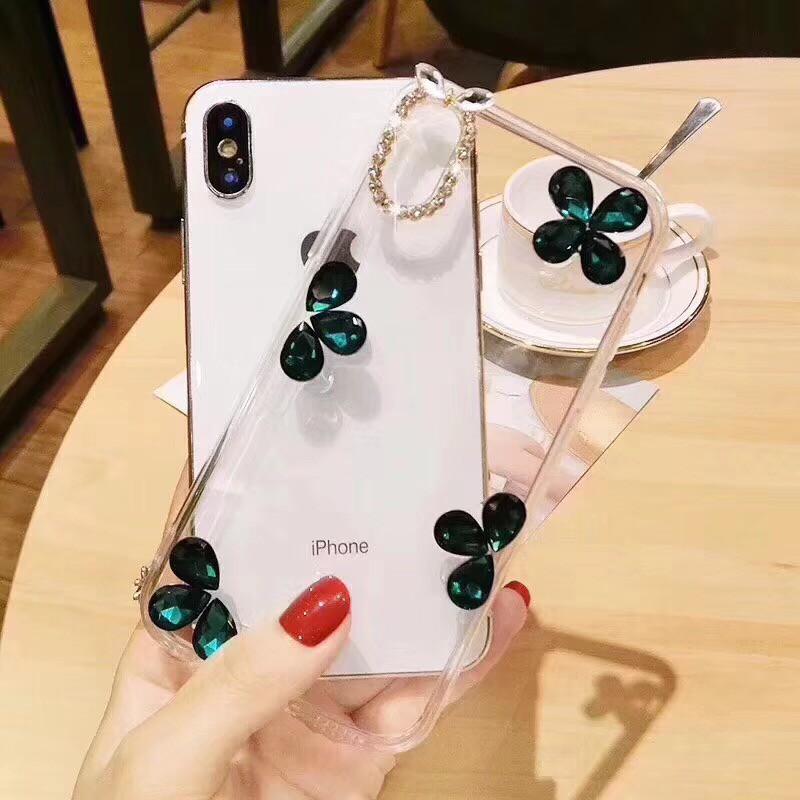 💋Huawei Nova 4 3 3i 2i 2 Lite Simple Floral Clear Case