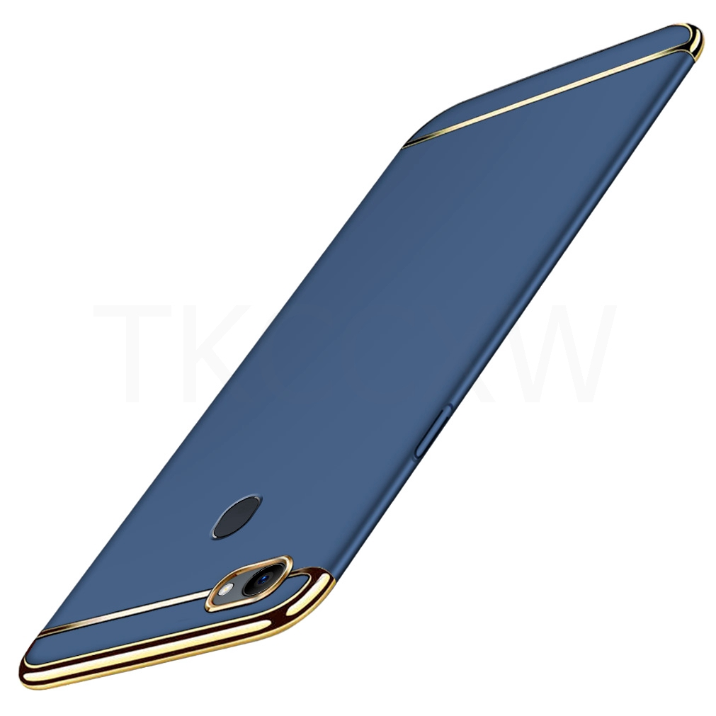 OPPO A7 AX7 Pro A7X A5S AX5S AX5 A3S A3 Cover 3in1 Hard Plastic Matte Back  Phone Cover