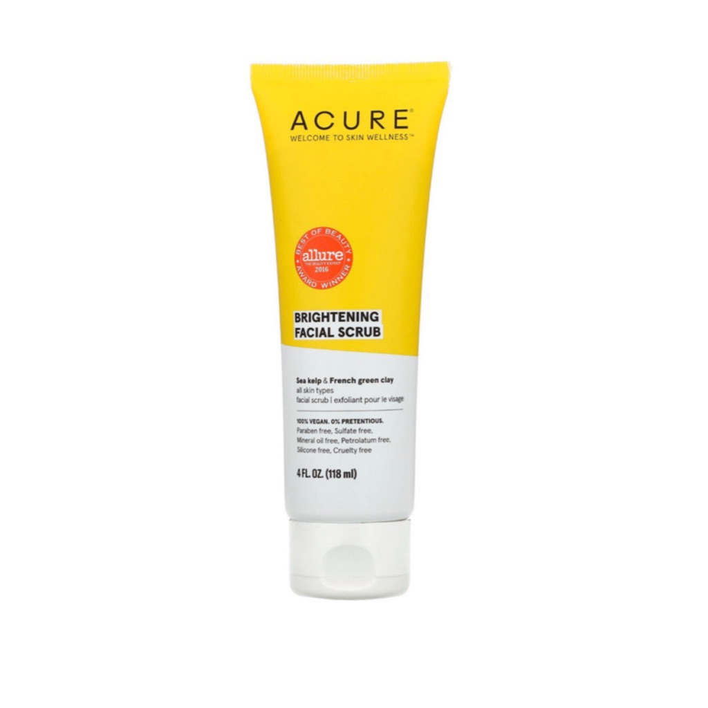 Acure Organics, Brightening Facial Scrub (118ml)