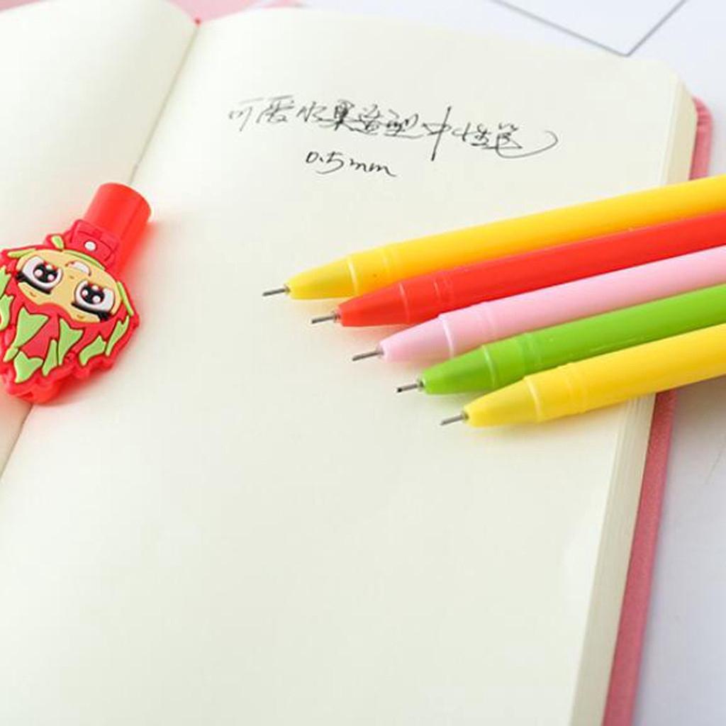 Plush Warm Ball Colored  Smooth Mermaid Tail  Writing Tool Gel Pen Signature