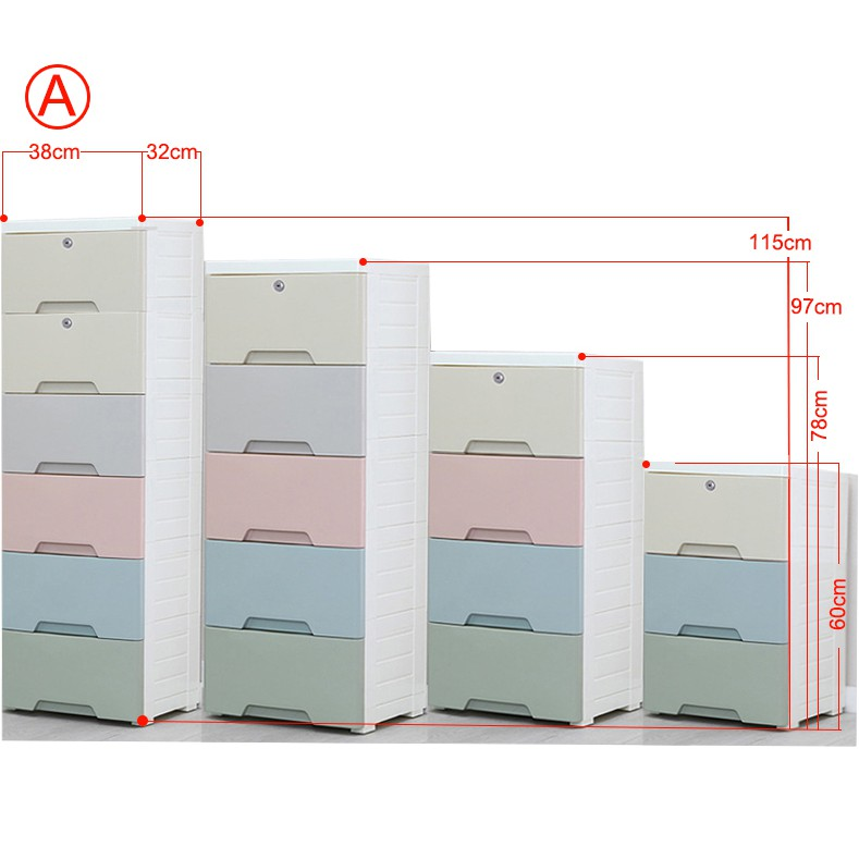 Modern Storage Drawers Cabinets