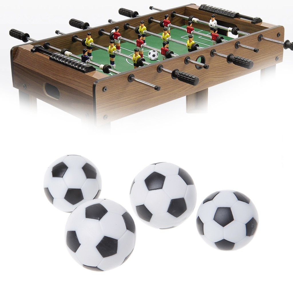 NEW 3 Pcs 36mm Soccer Table Foosball Replacement Ball Football Fussball Futbol