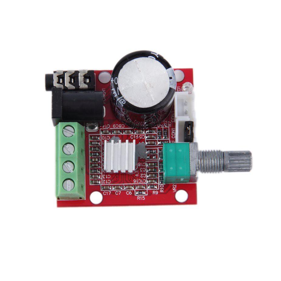 Tmr 210w dual channel hi fi pam8610 mini amplifier board 12v for computer audio