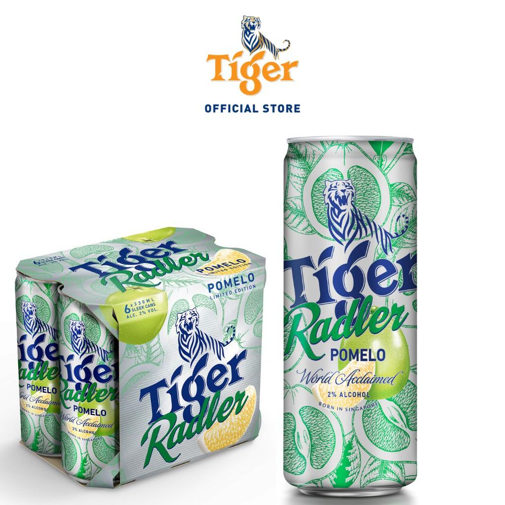 Tiger Radler Beer Pomelo Flavour 330ml x 24 Cans