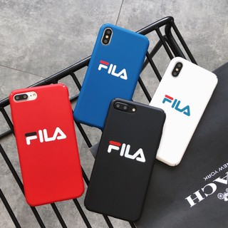 d9395f3a FILA Hard PC Matte Full Protect Phone Case for Iphone XS Max 6S 7 8 ...