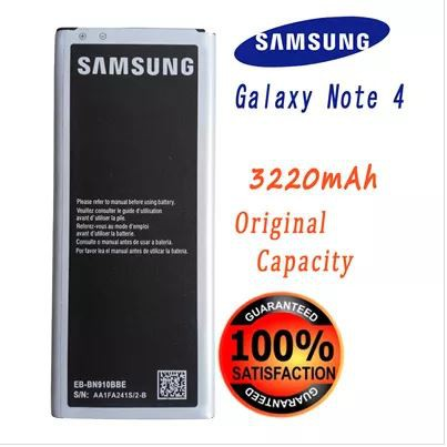 Samsung Galaxy Note 4 Battery EB-BN910BBE(3220mAh)Non NFC