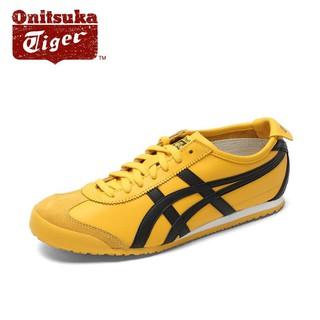 watch edba7 c763c Onitsuka Tiger Mexico66 Yellow/Black DL408-0490 | Shopee ...