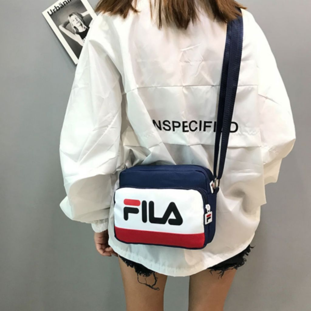 HYPED. AUTHENTIC 2018 FILA e-mook sling bag  968f3ad93b9eb