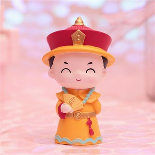 Forbidden City doll Qiaogege court style costume Chinese style gift doll ornamen