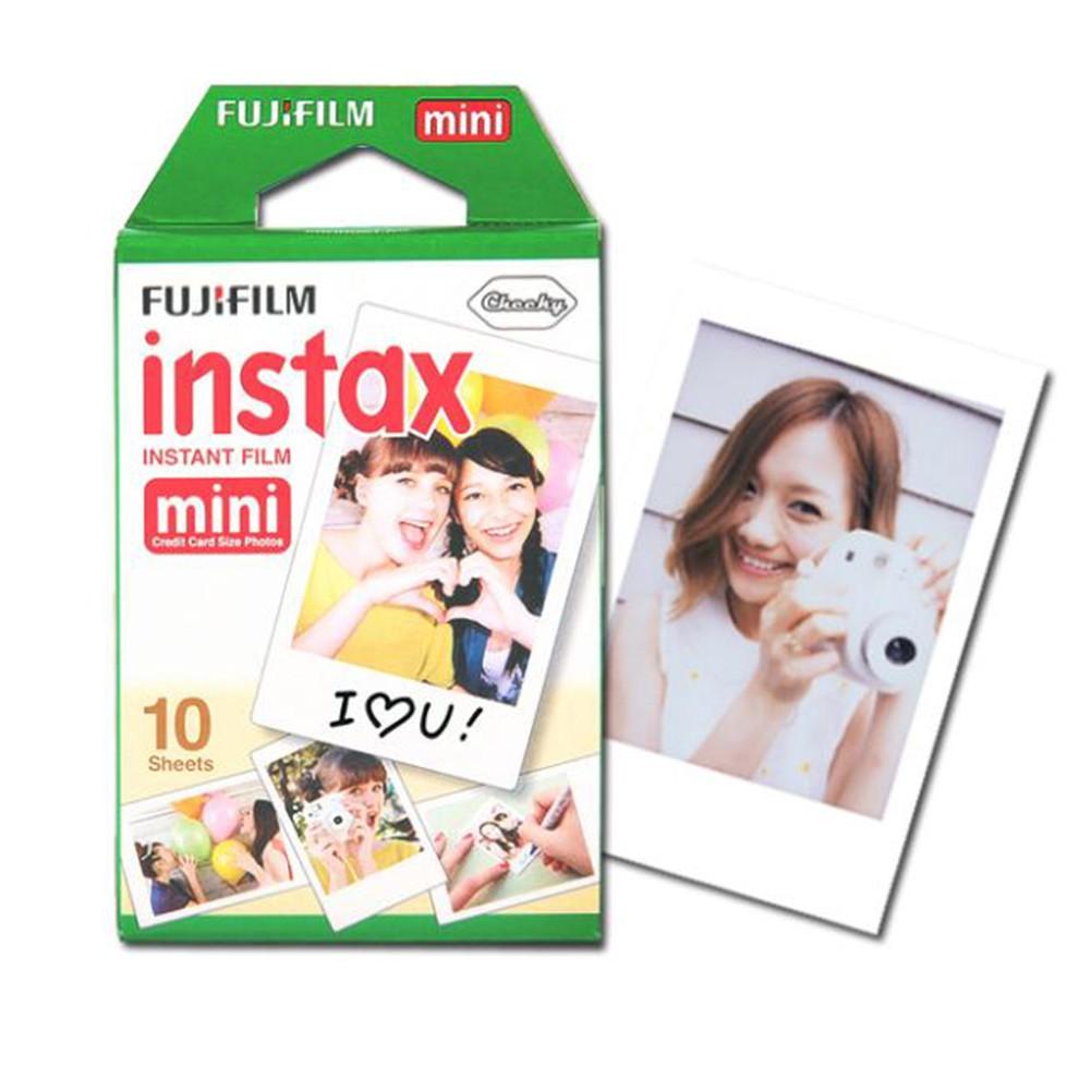 Fujifilm Instax Square Black Frame Instant Polaroid Film 10 Sheet Paper Mini Comic Shopee Singapore