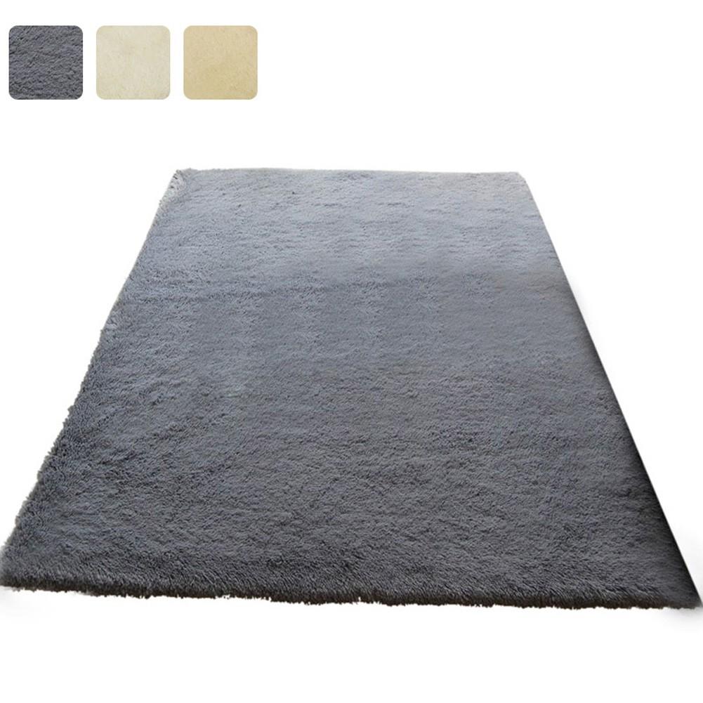 Fluffy Anti-skid Shaggy Soft Area Rug Slip Resistant