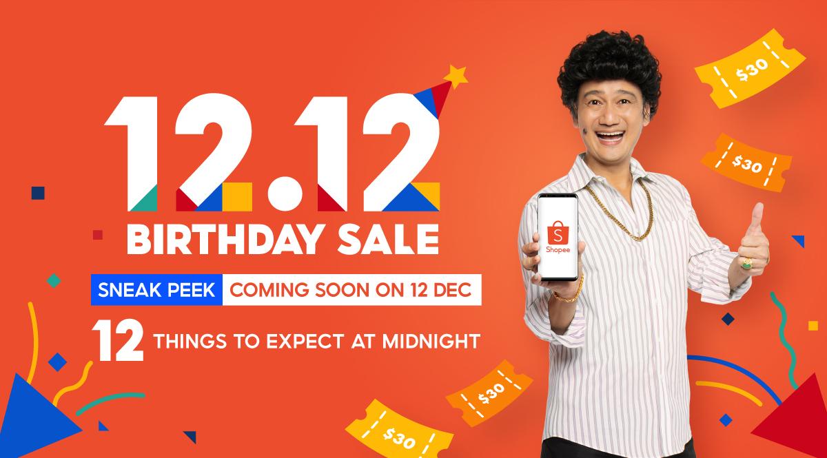 Shopee 12.12 Birthday Sale Singapore