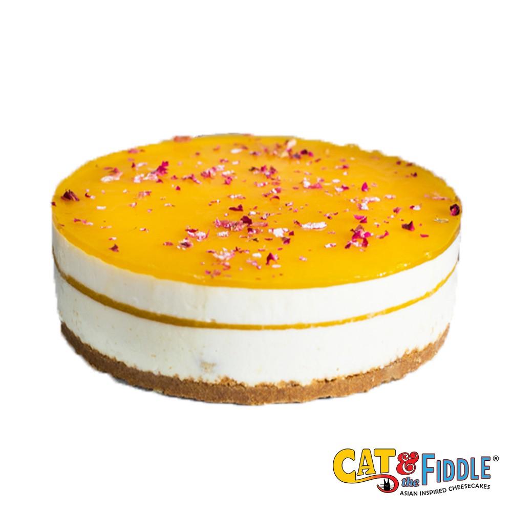 [Cat & the Fiddle] Citrus Tea Cheesecake