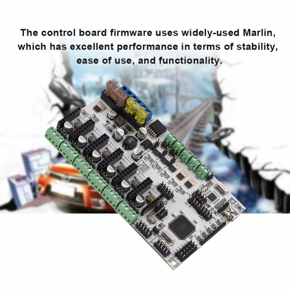 3D Printer Motherboard Printer Accessories Rumba Plus USB or SD Card  Printing