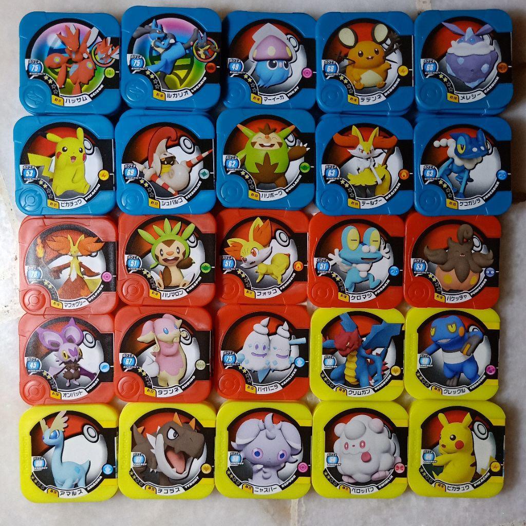 Pokemon Tretta 2 Stars