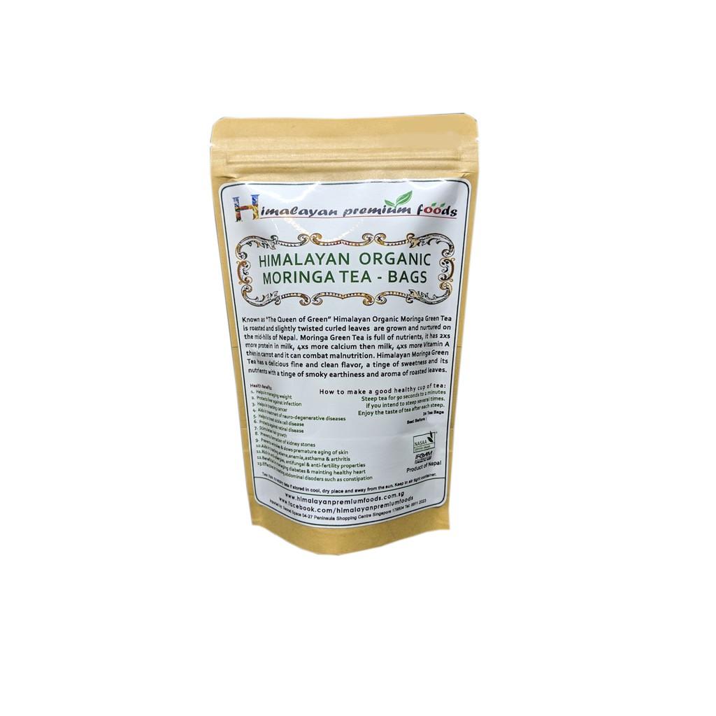 Himalayan Premium Foods - Himalayan Organic Moringa Tea (24 Tea Bags)