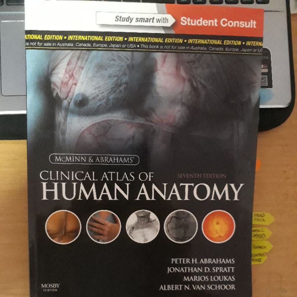 McMINN & ABRAHAMS\' Clinical Atlas of Human Anatomy 7th edition ...