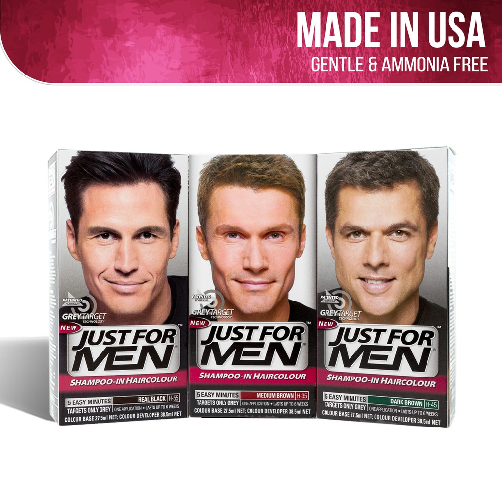 Just For Men Shampoo-In Hair Color | Shopee Singapore