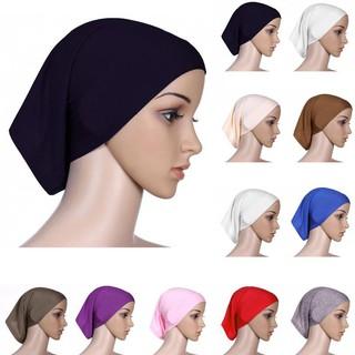 2pcs Bonnet Underscarf Hijab Head Scarf Muslim Cover Headwrap Islamic Women