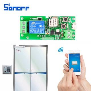 Sonoff DC 5V/DC 5V-32V Relay Module Wireless Switch Self