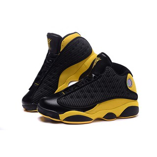 sports shoes 61621 074bd Air Jordan 13 XIII Melo PE Black Yellow original Basketball ...