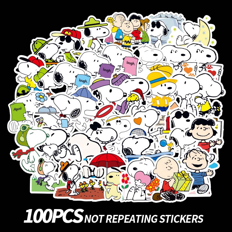 Peanuts Snoopy Stickers Bus