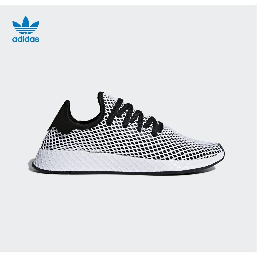 c43769338918 Adidas DEERUPT RUNNER Grid Fashion trend running shoes