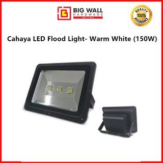 150Watt LED Flood Light Warm White Slim Garden Outdoor Security Lighting Fixture