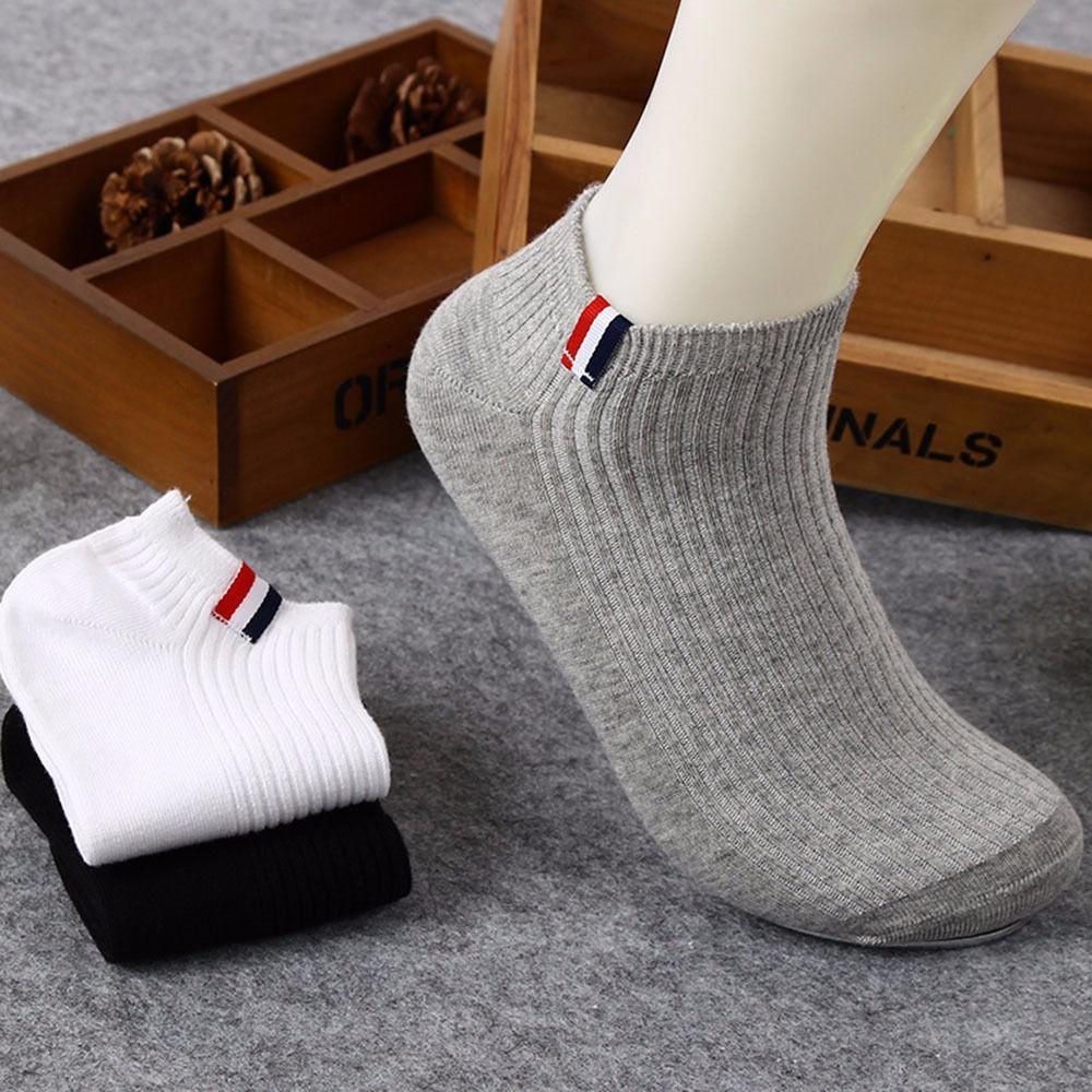 bdfbeb603ae1 Fashion Men Sport Cotton Socks Lot Short Crew Ankle Low Cut Casual Socks