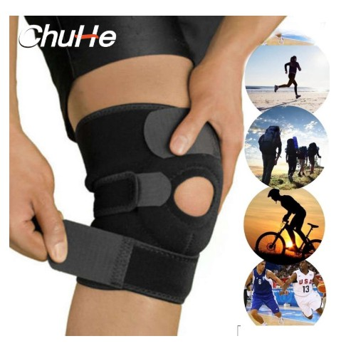 CHUHE - Best Knee Support,Adjustable Knee Guard with springs and Eva pad  Support   Shopee Singapore