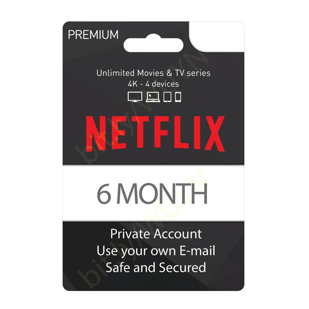 [PROMO]NETFLIX 6 months Premium Plan 4K UHD 4 Devices Private