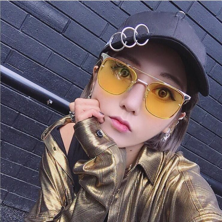 44df43e6d2c  VIVIAN Ready stock Korean Fashion Sunglasses female tide 2018 round Korea face  net red glasses fashion personality eyes