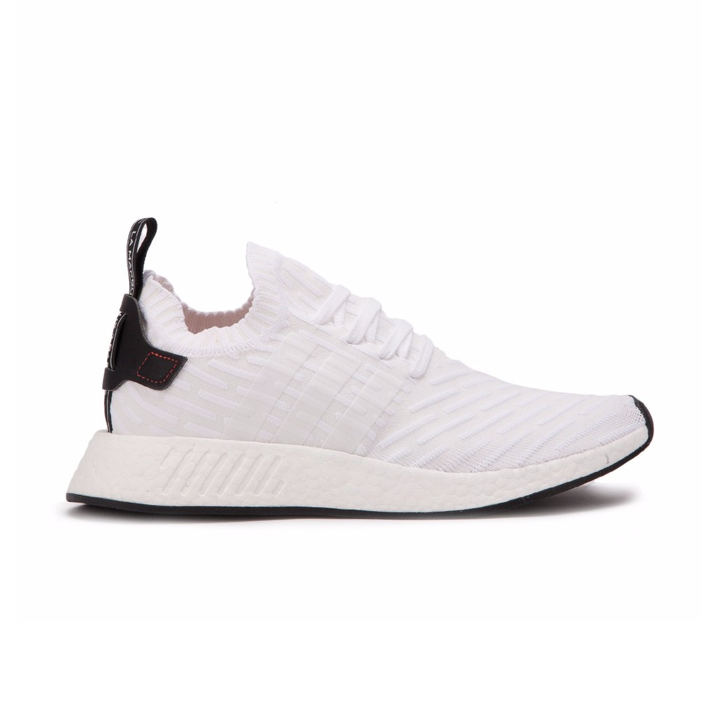 Adidas Nmd R2 Pk White Core Black Shopee Singapore