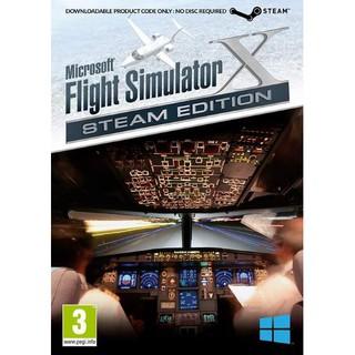 Microsoft Flight Simulator X: Steam Edition - Boxed Steam