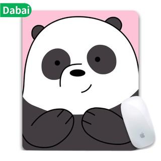 We Bare Bears Computer Peripheral Cute Cartoon Mouse Pad