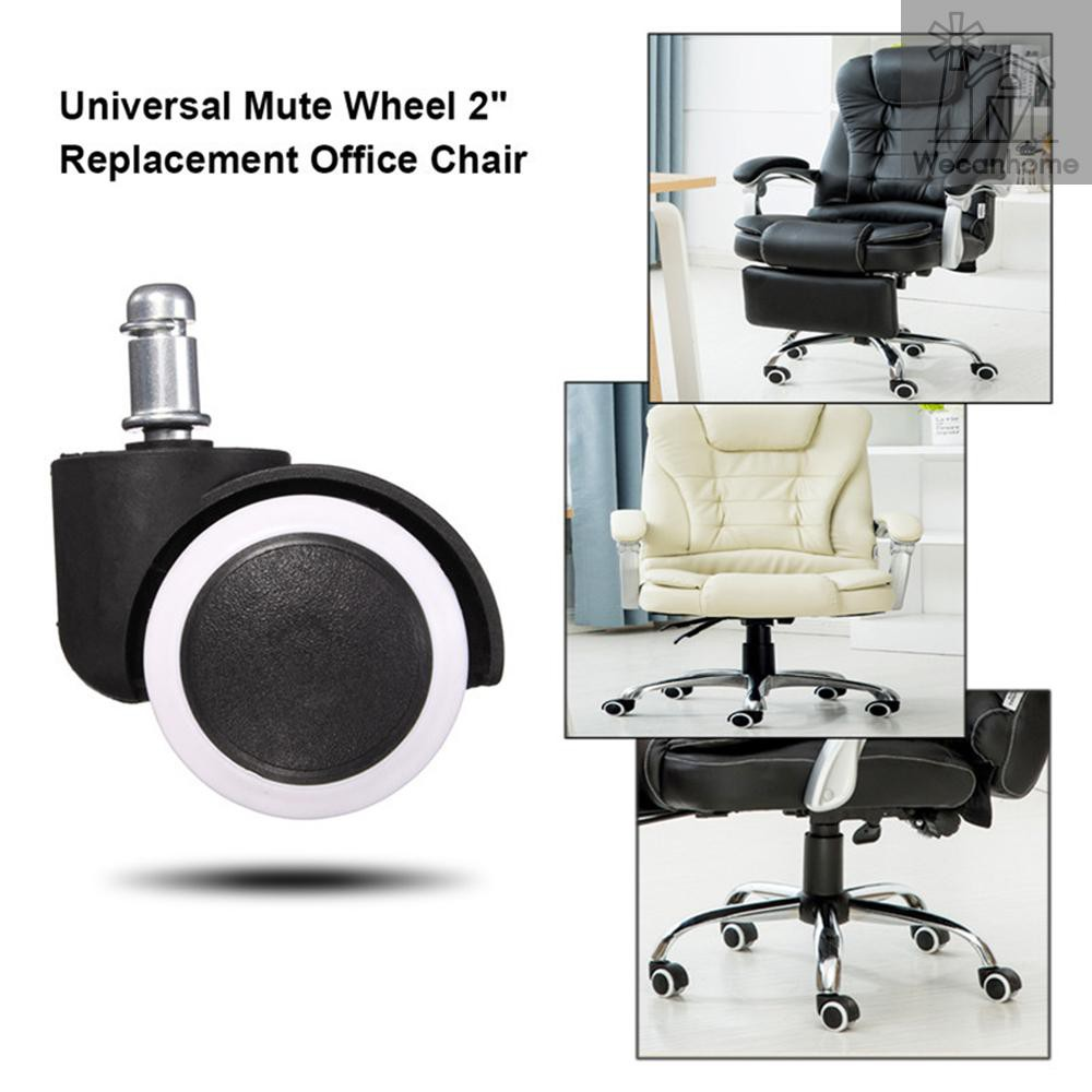 5pcs 2 1 5 Heavy Duty Office Chair Caster Wheel Swivel Rubber Protecting Hard Wood Floor Home Furniture Replacement Pack Shopee Singapore