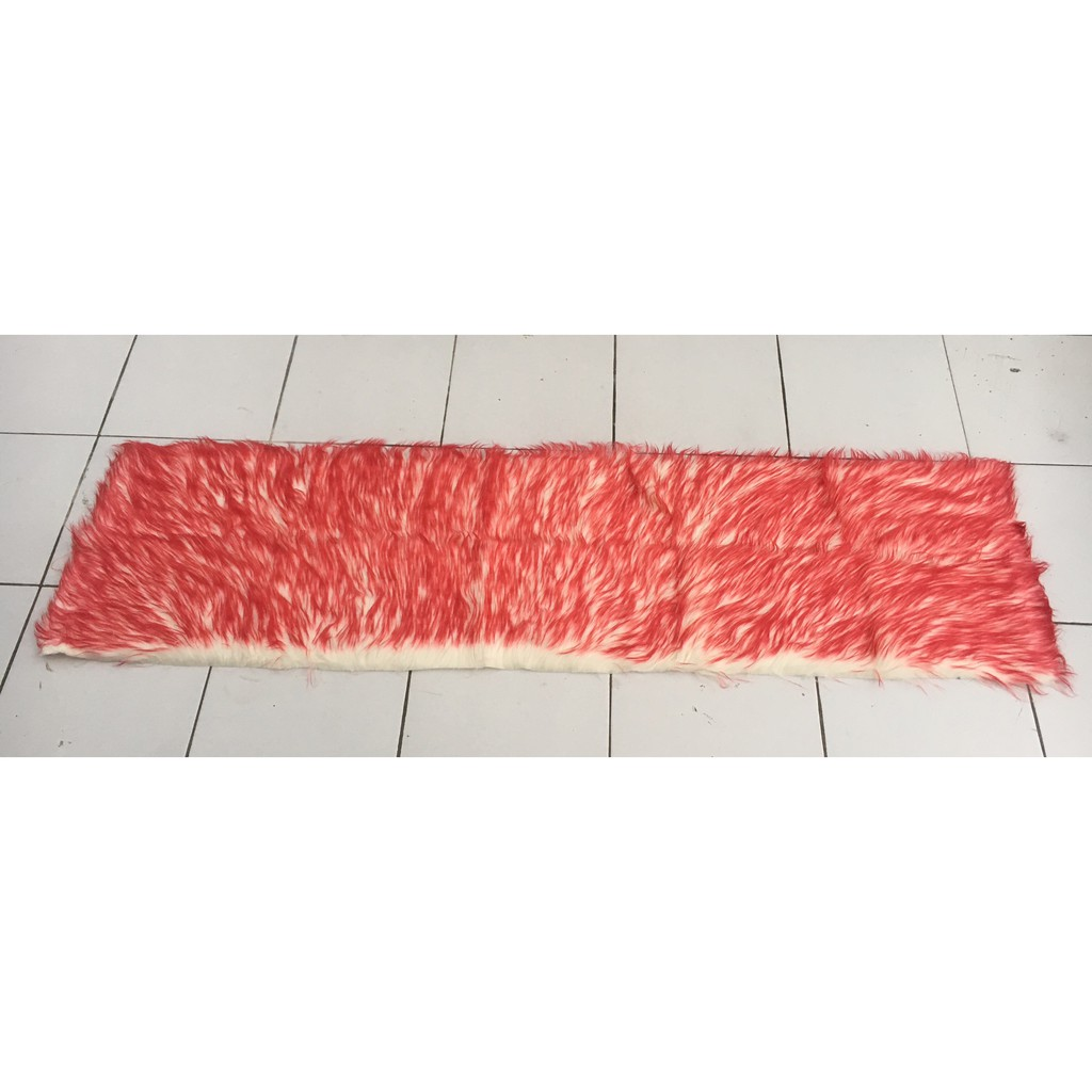 Car Dashboard Feather Cover Red Color Combination White ...