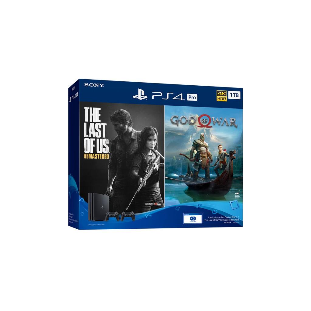 Playstation 4 Pro 1tb God Of War The Last Of Us Remastered Bundle