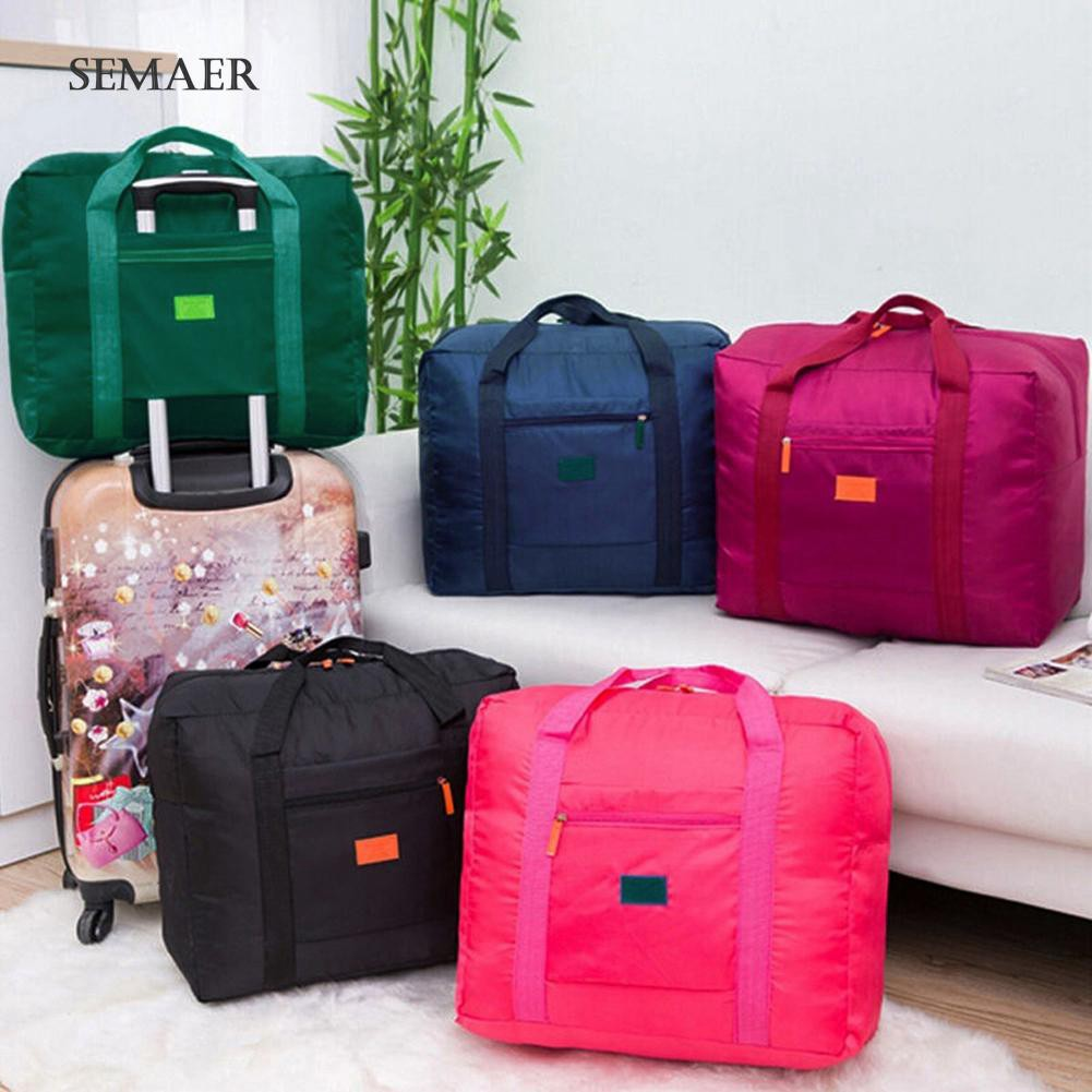 153380b9c69f ★SP Waterproof Foldable Travel Luggage Clothes Large Capacity Storage  Duffel Bag