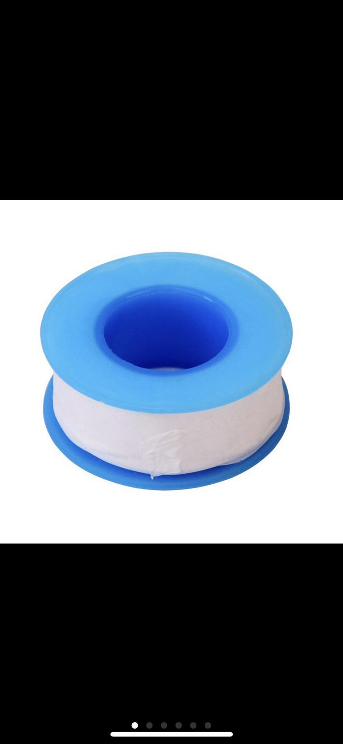 1 Roll New 20M 65 Feet Water Pipe Oil-free PTFE Teflon Thread Seal Plumbing Tape