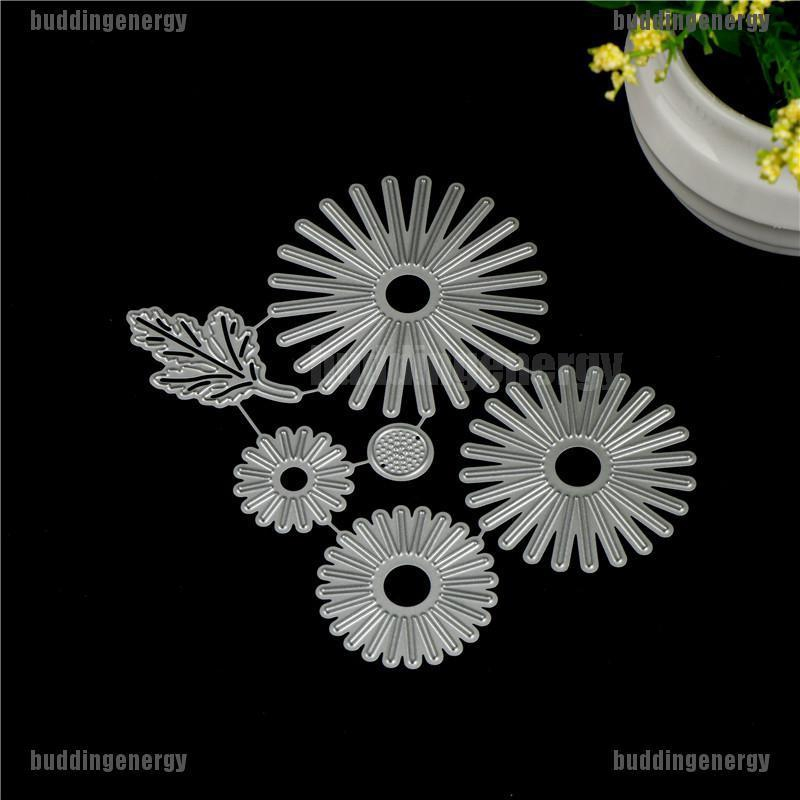 6pcs//set Flowers Metal Cutting Dies For DIY Scrapbooking Album Paper Cards 0cn