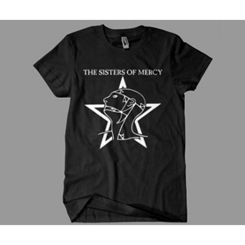95d40497 The Sisters Of Mercy Logo T-Shirt | Shopee Singapore
