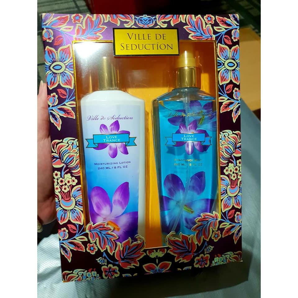 Jeanne Arthes Amore Mio White Gift Set Shopee Singapore Parfum Original Boum Green Tea Cherry Blossom For Women Edp 100ml